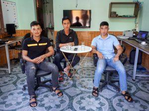 Đón tiếp và phỏng vấn các ứng viên ứng tuyển vị trí học việc khóa 2